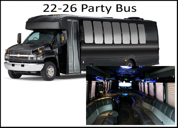 Houston Wedding 18-26 Party Bus