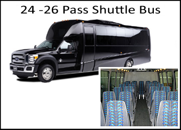 Houston Wedding 24-26 Shuttle Bus