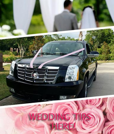 The Woodlands Wedding Limo